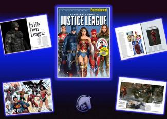 ENTERTAINMENT WEEKLY Justice League