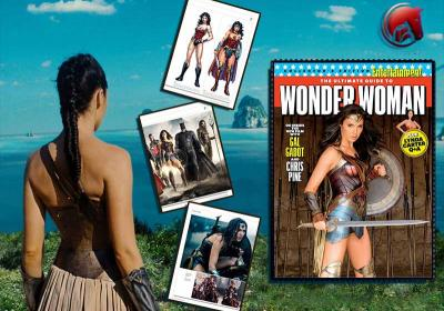 ENTERTAINMENT WEEKLY Wonder Woman