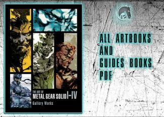 The Art of Metal Gear Solid I-IV: Gallery Works